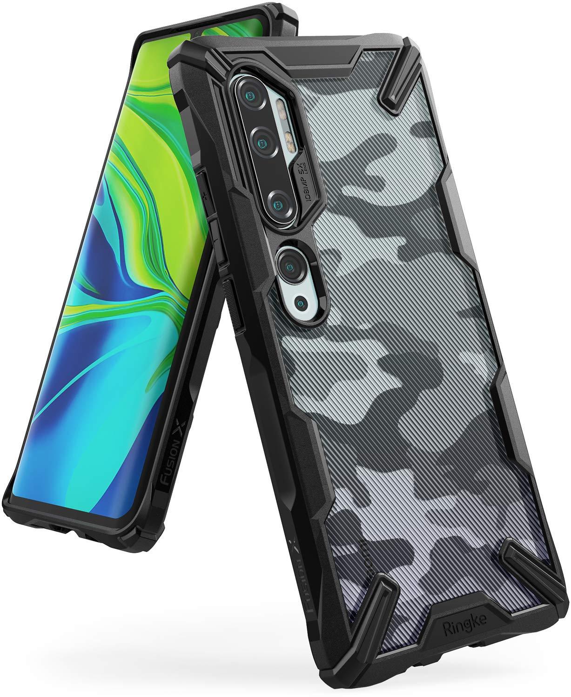 Funda Resistente Ringke Para Xiaomi Note 10 Pro Camuflada
