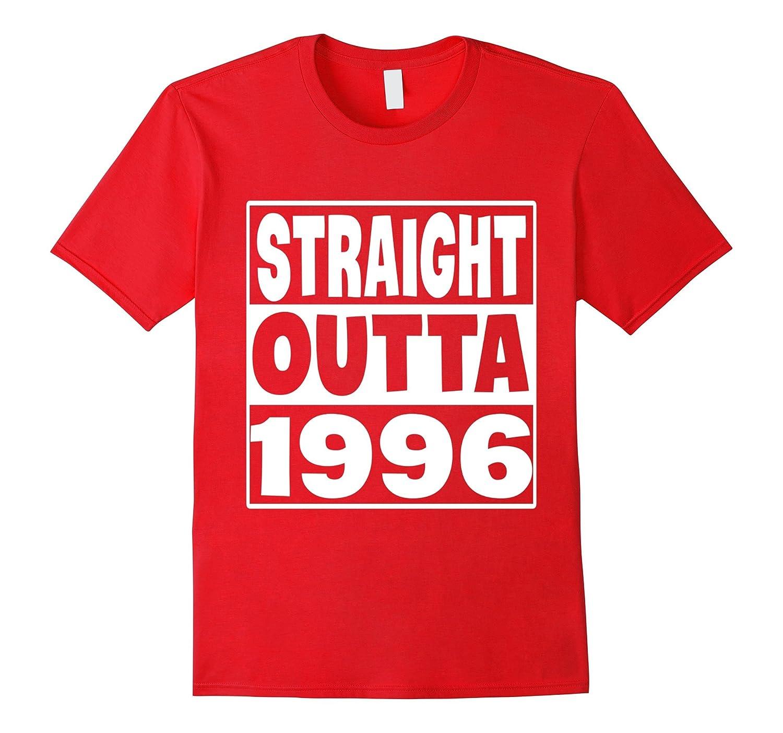 1996 Birthday T-Shirt Straight outta 1996-Vaci