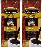 Teeccino Medium Roast Hazelnut Herbal Coffee 11 Ounces (Pack of 2)