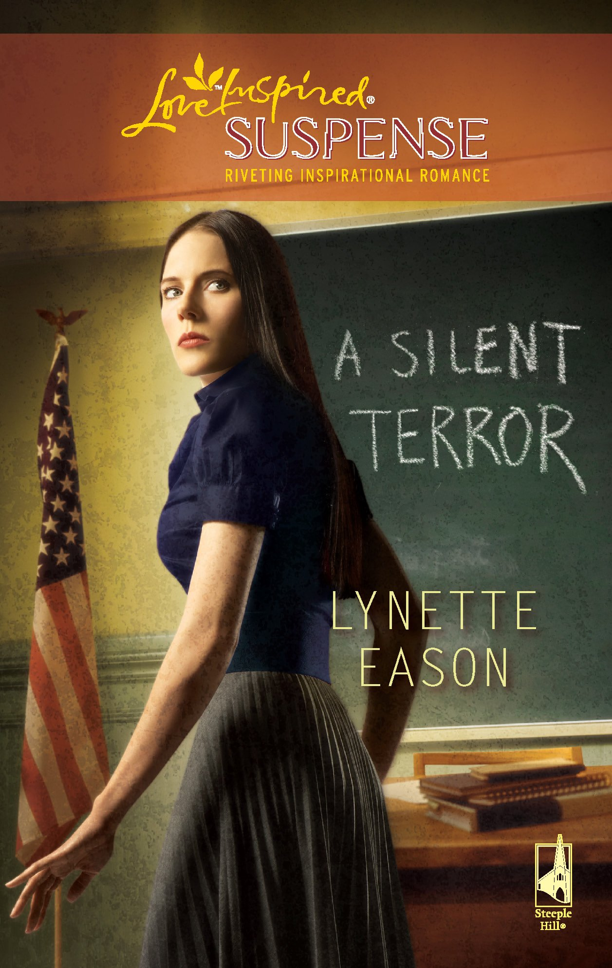 Download A Silent Terror (High Stakes Trilogy, Book 1) (Steeple Hill Love Inspired Suspense #141) pdf