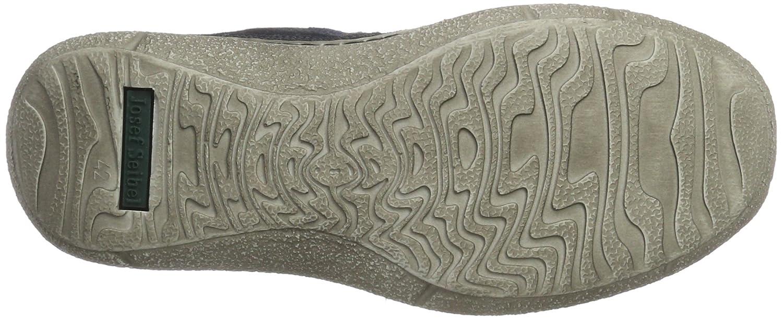 43613 - Zapatos Oxford de Cuero Hombre, Color Azul, Talla 42 EU Josef Seibel