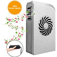 Peralng Mini Portable Fan Battery w/6000mAh Pack