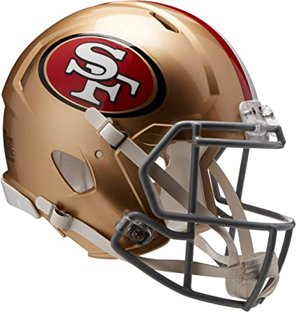 Riddell Speed Mini Football Helm AMP San Francisco 49ers
