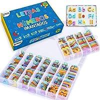 Letras y Números Magnéticos para Niños - Conjunto