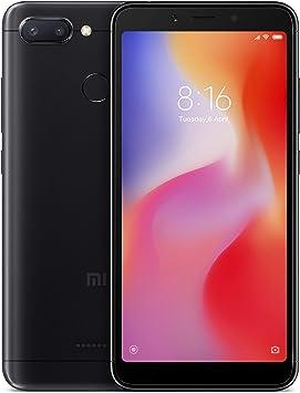 Xiaomi 6941059613497 Redmi 6 EU Memoria Smartphone, 3 GB RAM, 64 GB ROM, IPS LCD 13, 8 cm (5,45 Pulgadas), Color Negro: Xiaomi: Amazon.es: Electrónica
