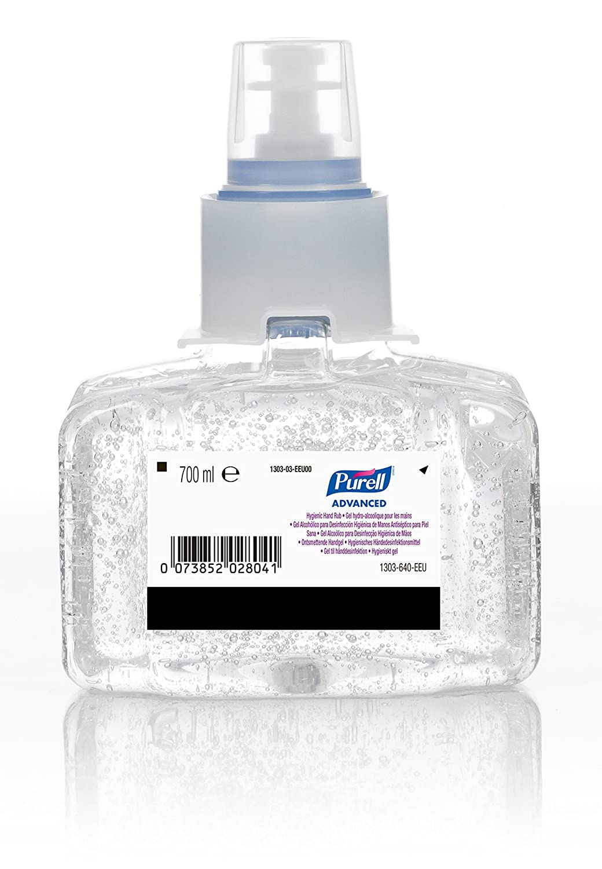 Amazon Com Hand Sanitizer 700ml Refill Bottle Pk 3 Industrial