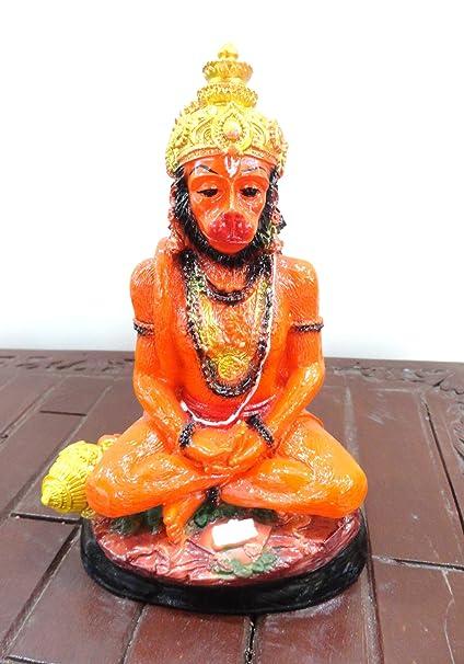 Unique Palette Hanuman Idol For Home Puja / Pooja Gift / God Idol