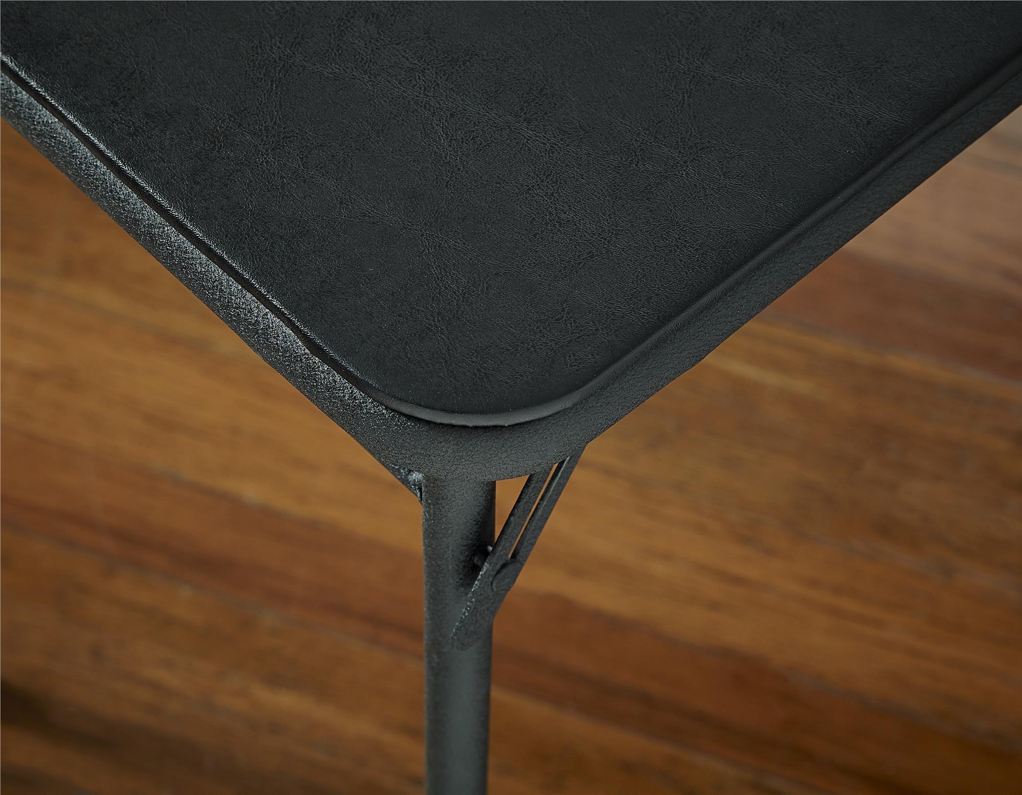 Cosco 20″ x 48″ Vinyl Top Folding Table