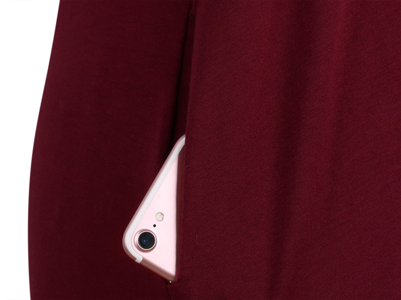 DSUK Womens Swing Dress with Pockets, Women\'s A Line Flared Hemline Dress Tees