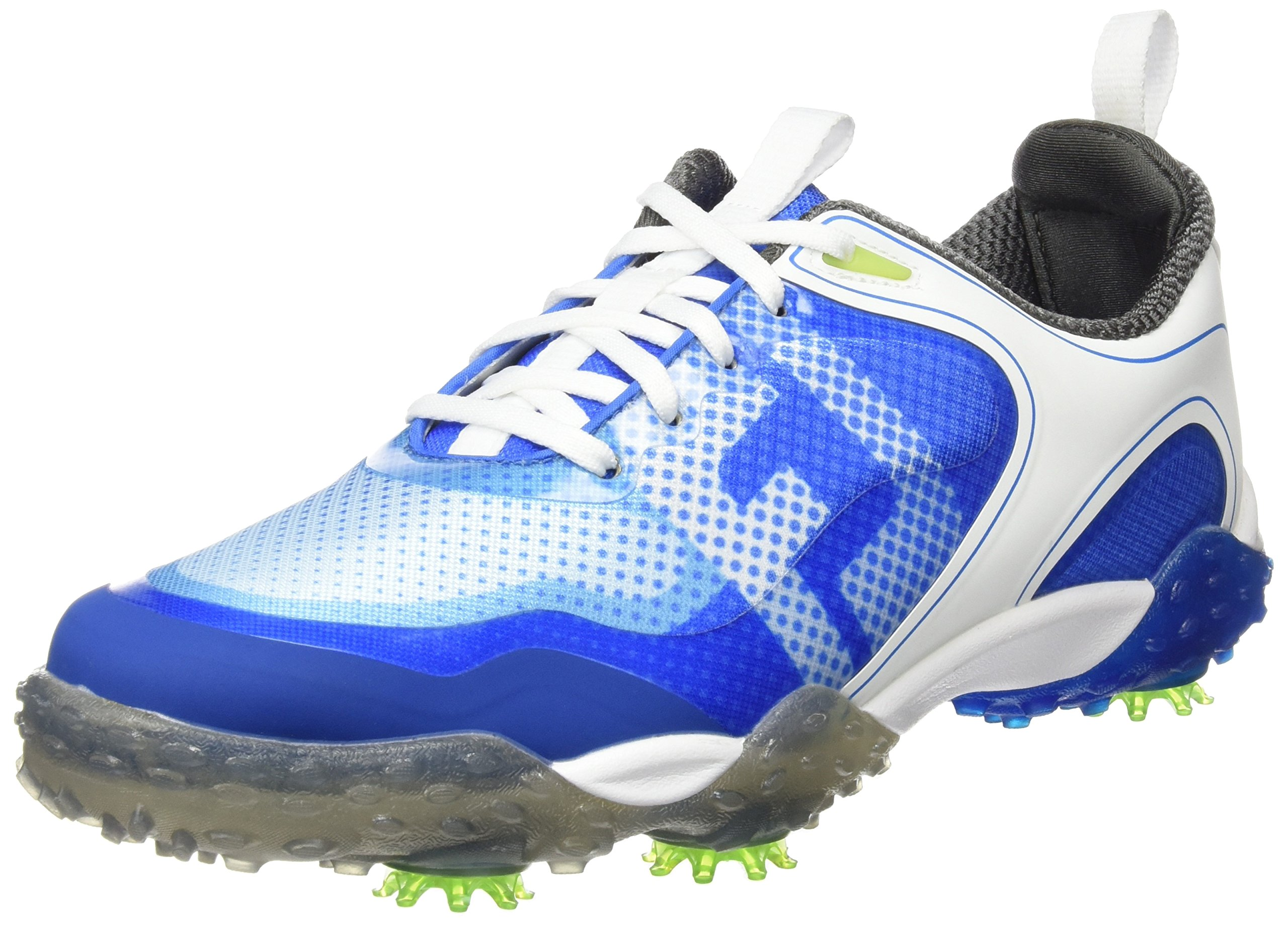 FootJoy Men's Freestyle Golf Shoes Saddle White/Electric Blue Size 11.5 M US by FootJoy