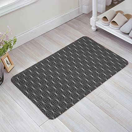 Superbe Fantasy Star Rhombus Lines Geometric Pattern Doormats Home Decorative Door  Mats Non Slip Backing Rubber Rugs