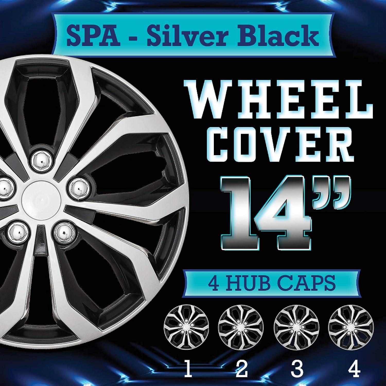Sirius, 15 Inch Motacare/® Universal ABS Plastic Wheel Trim Sets