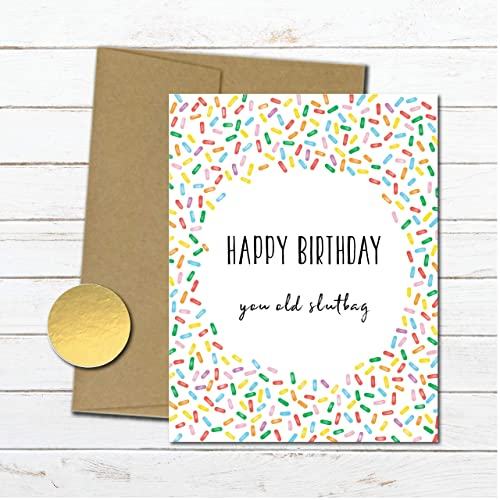 Amazon Rude Funny Birthday Card For Her Naughty