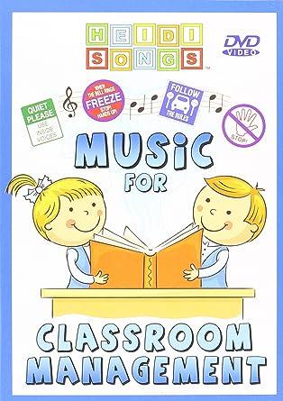 Amazon com: Music for Classroom Management DVD: Heidi Butkus: Movies