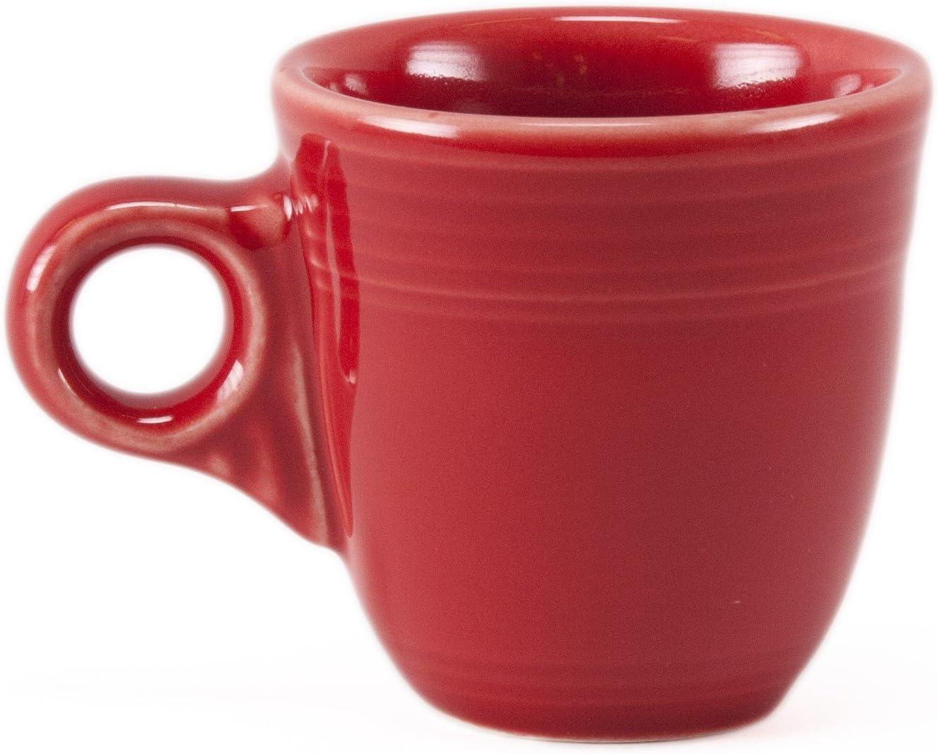 Set 4 Black Homer Laughlin Demitasse//Espresso Cups and Saucers,Lead Free