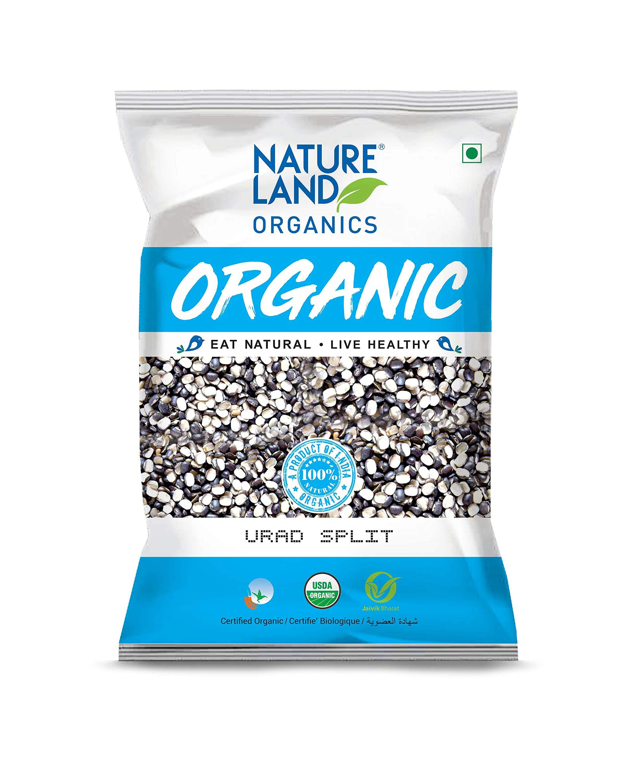 Natureland Organics Urad Chilka/Split Pouch, 1 kg (B07W61TNZH) Amazon Price History, Amazon Price Tracker
