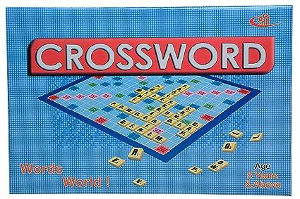Kids Mandi Scrabble Crossword Board Game for Kids and Family, Small  (Multicolour)