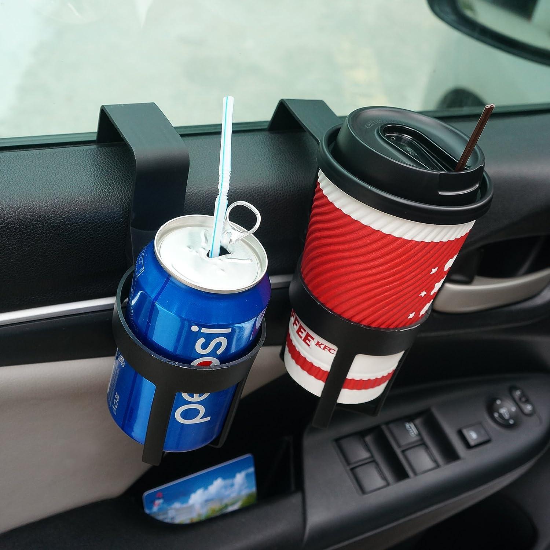 Fenster Dash Mount King of Sheen 2/Schwarz Auto Cup kann Flasche Halter f/ür Truck Innen