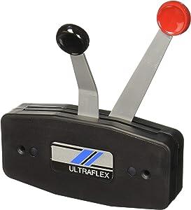 Uflex B49 Two Lever Side Mount Control