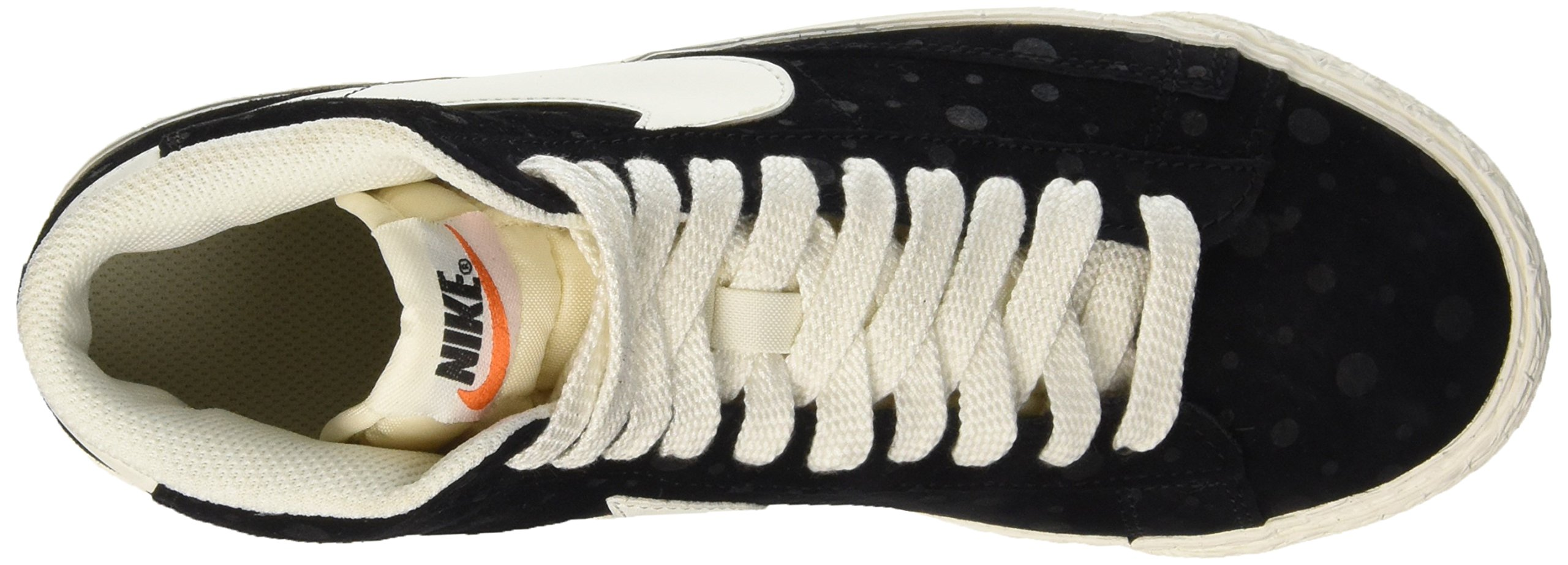 Nike Women's Blazer Mid Suede Vintage Black/White 518171-015 (SIZE: 8) by NIKE (Image #7)