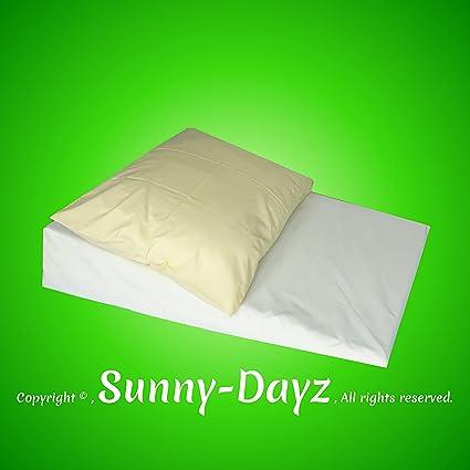 Gran almohada de espuma para cama, colchón de inodoro, ácido ácido, ácido estómago