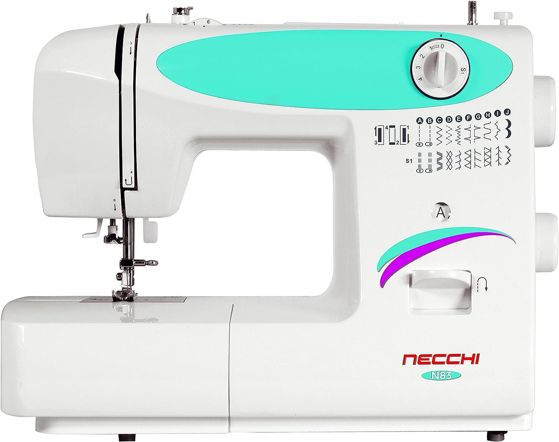 Necchi N83 - Máquina de Coser (Blanco, Máquina de Coser automática ...