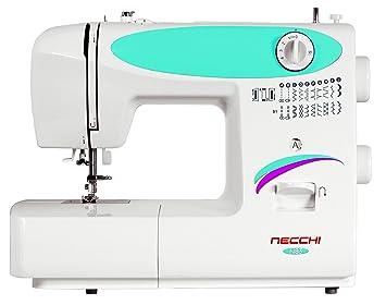 Necchi N83 - Máquina de Coser (Blanco, Máquina de Coser automática, Costura, Paso 4, 5 mm, Giratorio): Amazon.es: Hogar