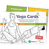 WorkoutLabs Yoga Cards I & II - Complete Set: Professional Visual Study, Class Sequencing & Practice Guide · Premium Flash Cards Decks with Sanskrit
