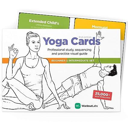 Amazon.com: WorkoutLabs Yoga Cards I & II - Set completo ...