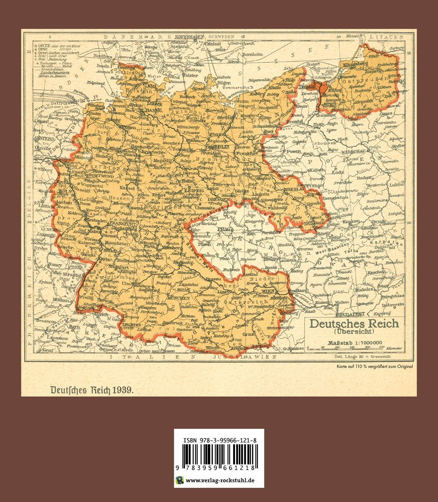 Historische Karten: DEUTSCHLAND - Das neue Reich 42: Amazon.de ... - Deutschland 1939 Karte