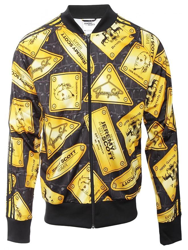 adidas Originals Jeremy Scott Gold Plaque Track Jacket