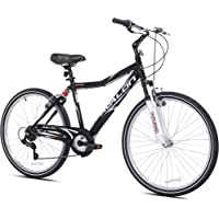 "Kent 26"" Avalon Comfort Men's Bike with Full Suspension, Black"