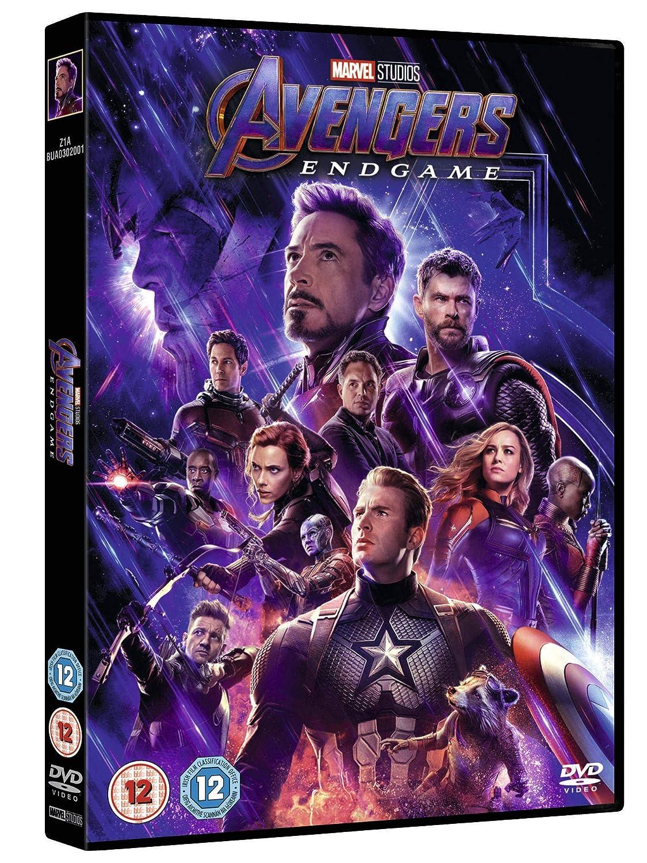 Marvel Studios Avengers Endgame Dvd 2019 Amazoncouk