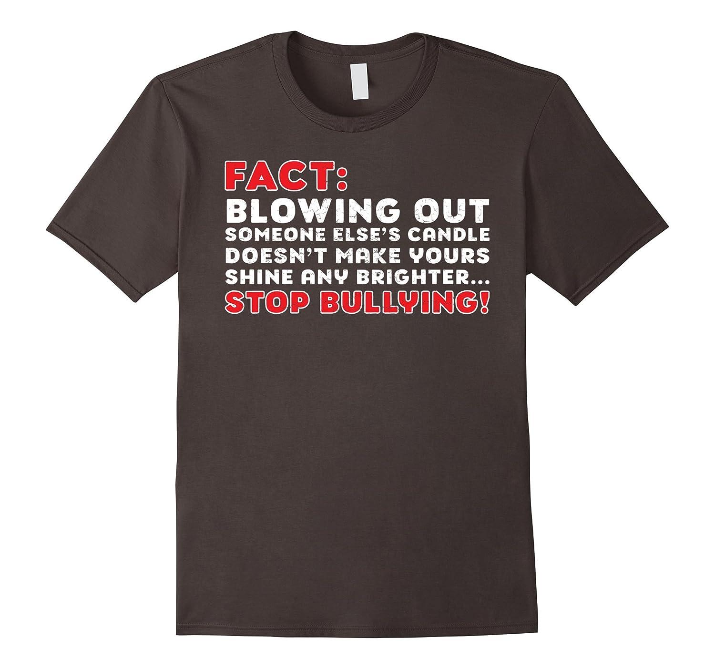 Bully It's Not Cool Anti-Bullying Awareness Cool T-Shirt-FL