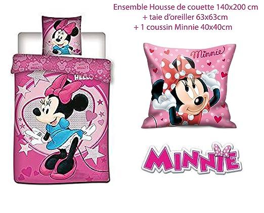 Regalo Store Minnie Juego de Cama Funda nórdica de Disney + ...