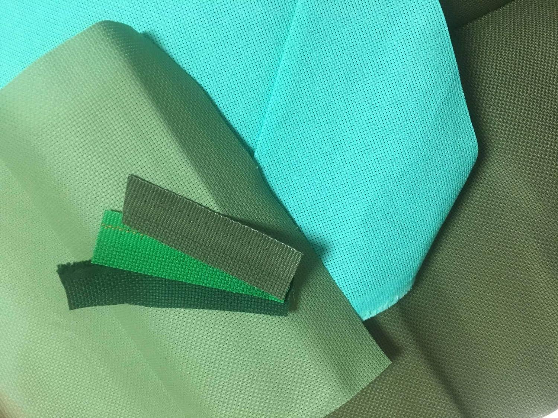 Color: Brown Green, Size: 25-25CM Zamtac Aida 14ct Cloth Green Blue Cross Stitch Fabric Canvas DIY Handmade Needlework DIY Supplies Embroidery Craft Hand
