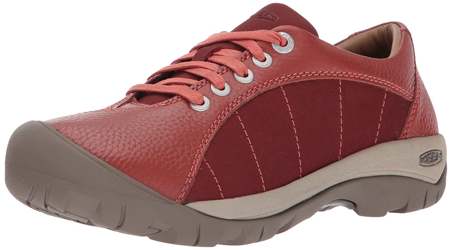 Keen Womens Presidio Leather Trainers 38 EU|Tandori Spice