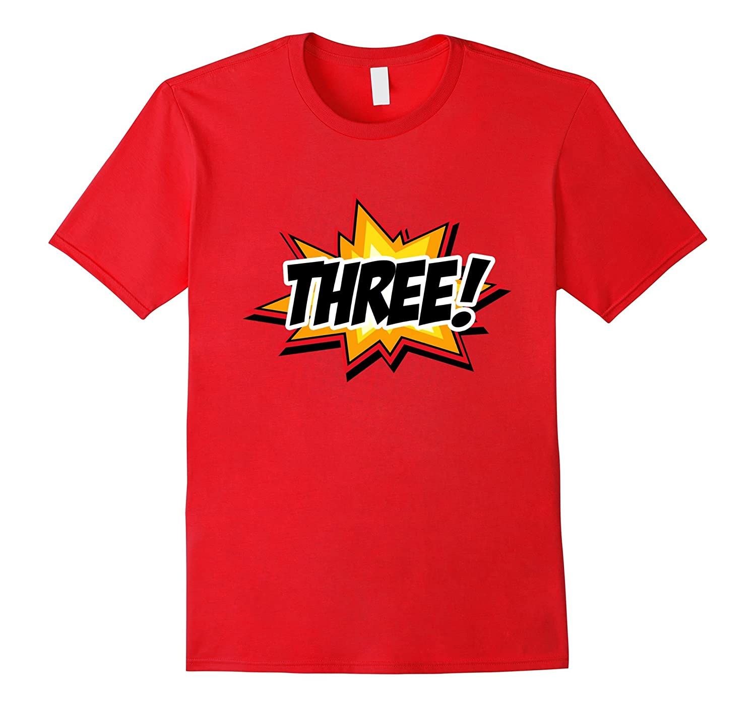 SuperHero Birthday Shirt 3 Year Old Boys And Girls ALL AGES CL Colamaga