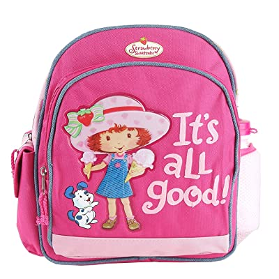 """Strawberry Shortcake 12"""" Backpack with Water Bottle"""