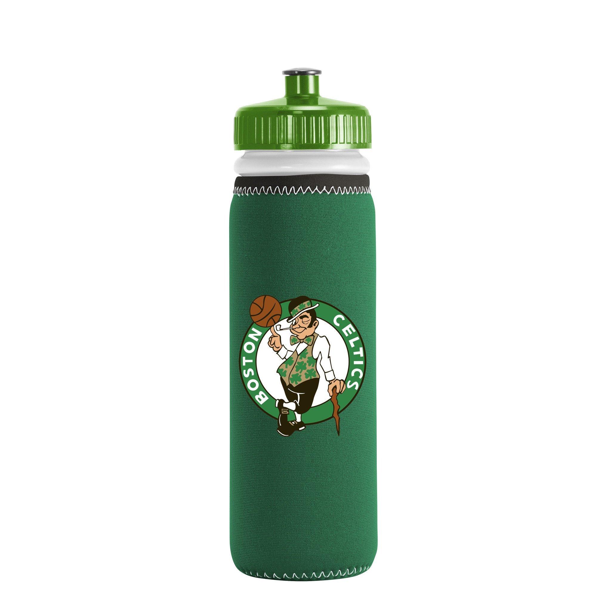 NBA Boston Celtics Van Metro Water Bottle, One Size, Green by Kolder