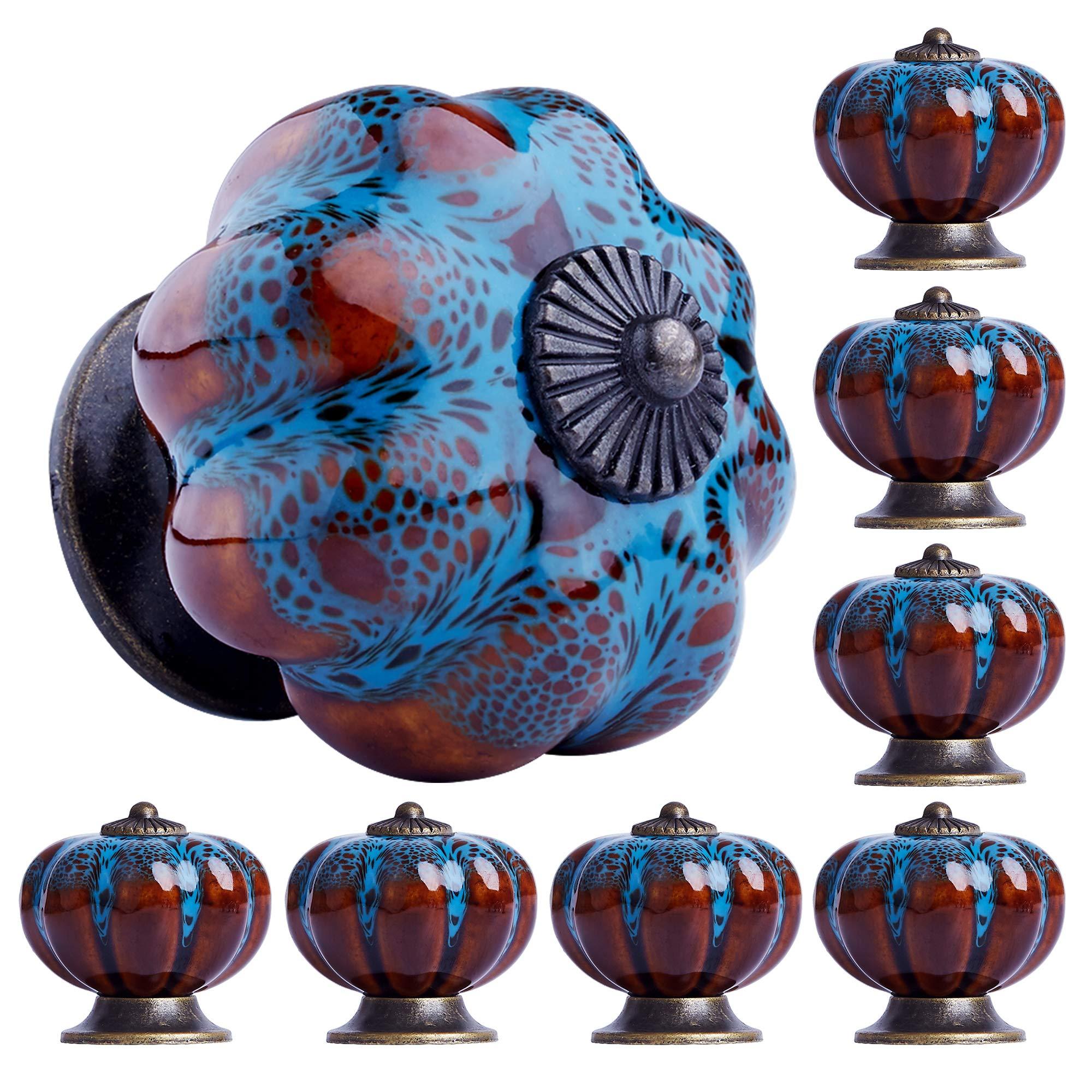 8 Tiradores de Ceramica / Porcelana (81CJ14RC)