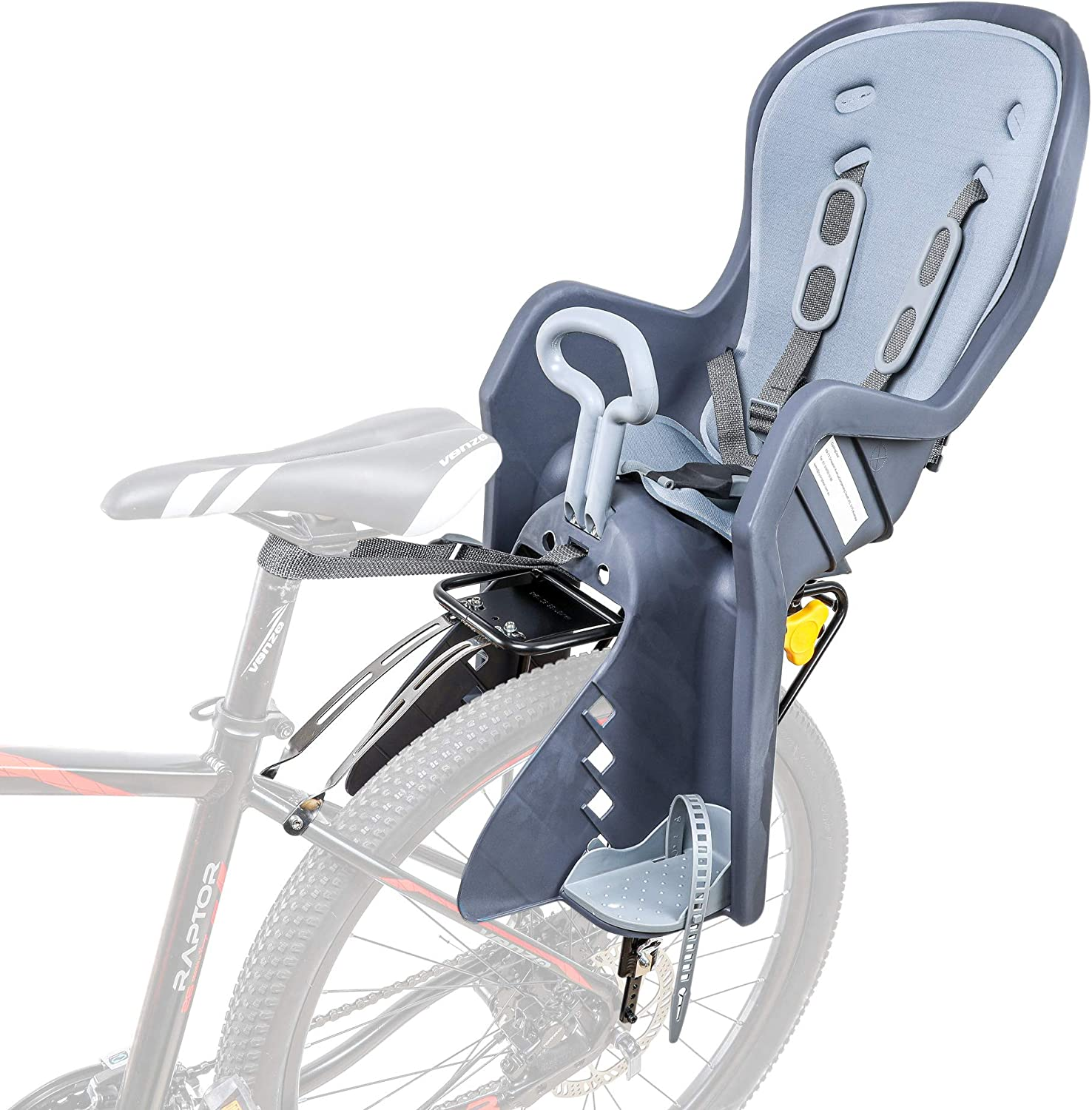 Bicycle Kids Child Front Rear Back Baby Seat Bike Carrier w// Handrail 25kg Max ~