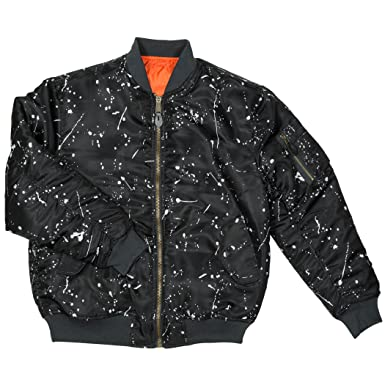 Amazon.com  Men s MA-1 Reversible Flight Bomber Pilot Jacket  Clothing 1c2f149d691