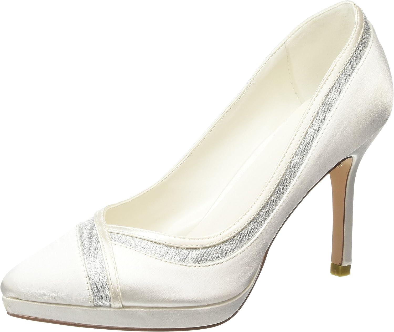 TALLA 38 EU. Menbur Felicidad, Zapatos de tacón con Punta Cerrada para Mujer