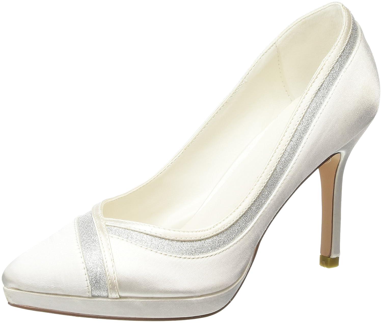 TALLA 39 EU. Menbur Felicidad, Zapatos de tacón con Punta Cerrada para Mujer