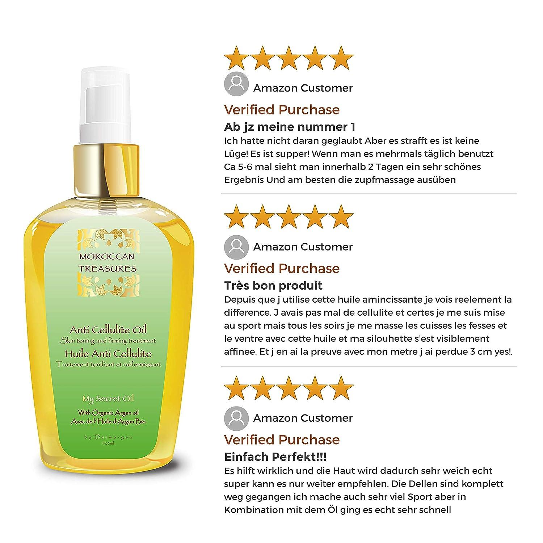 Buy Anti Cellulite Oil Slimming Oil Natural Body Oil With Argan