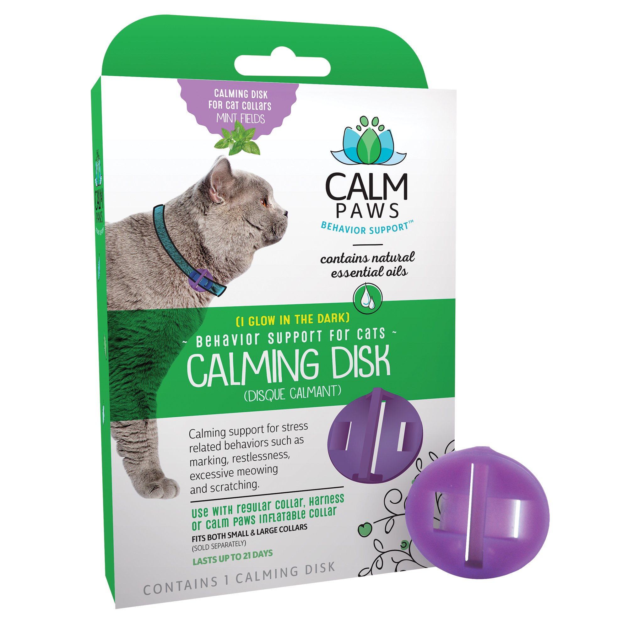 Calm Paws Calming Disk Medallion Cat by Calm Paws