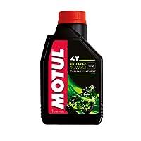 Motul 104062 5100 4T Hybrid 10W-30 API SM Technosynthese Semi Synthetic Engine Oil for Bikes (1 L)
