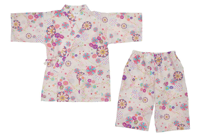 WATANOSATO Jinbei ondulazione Made in Kurume Japan Girls Taglia Kimono