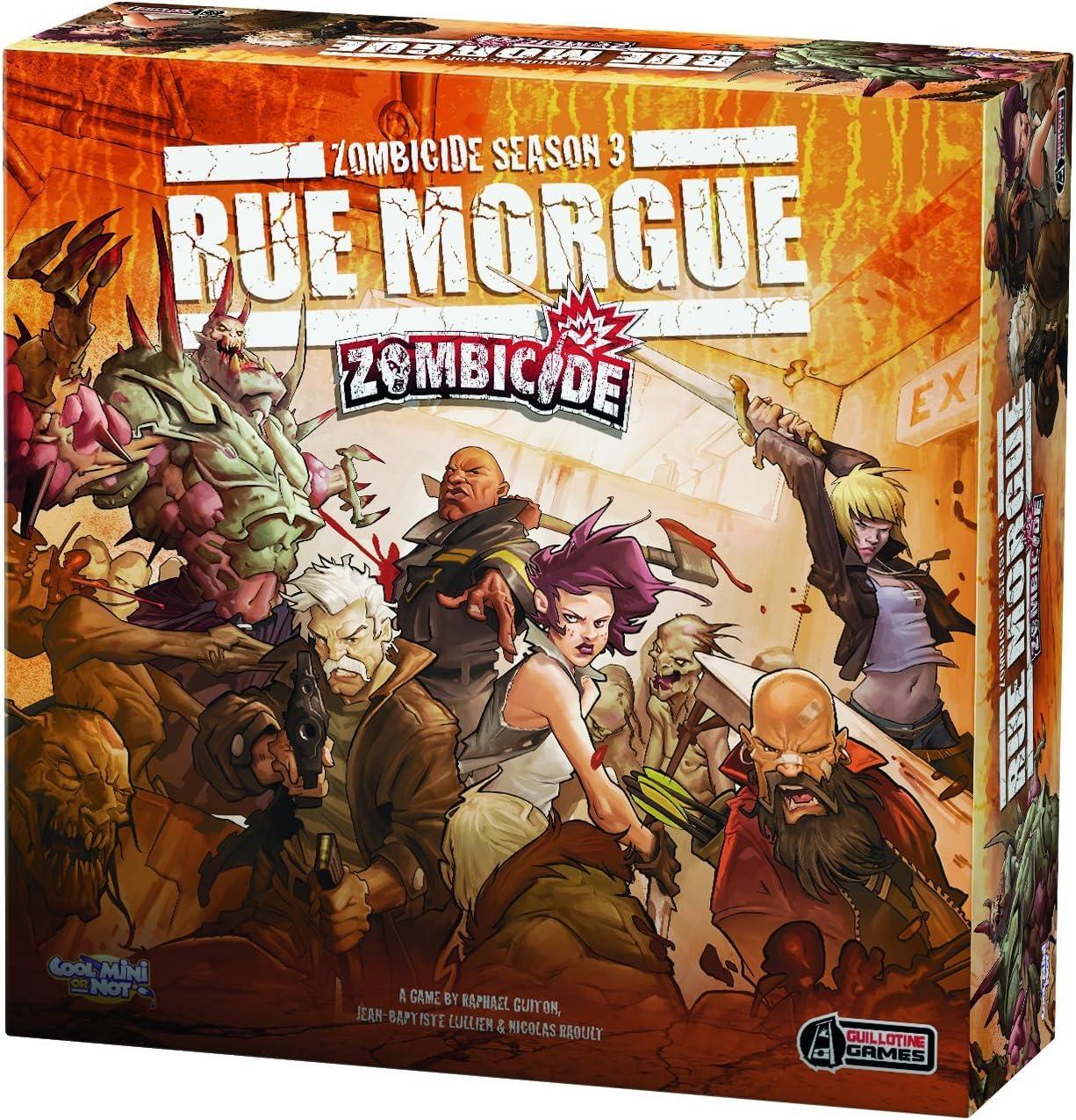 Enfriar Mini o No 901 433 - Zombicide Temporada 3 - Rue Morgue, Juego de Mesa: Amazon.es: Juguetes y juegos
